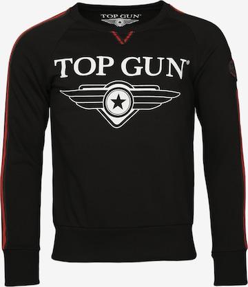 TOP GUN Sweater ' Streak ' in Schwarz