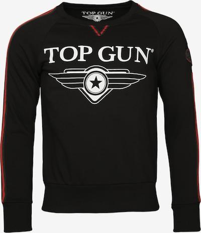 TOP GUN Sweater ' Streak ' in schwarz, Produktansicht