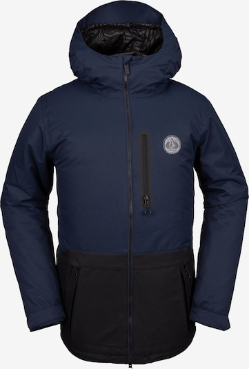 Volcom Outdoorjas 'Deadly Stones' in de kleur Marine / Navy, Productweergave