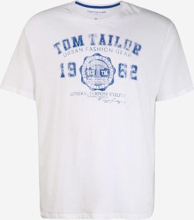 TOM TAILOR Men + Тениска в синьо / бяло, Преглед на продукта