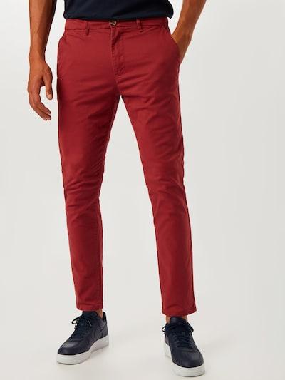 BURTON MENSWEAR LONDON Pantalon 'SL RED SPICE CHINO' en rouge, Vue avec modèle