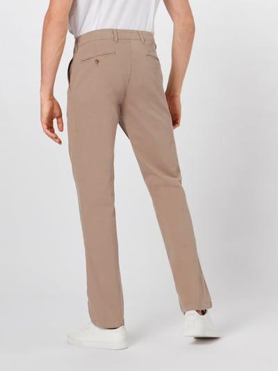 Pantaloni eleganți 'everest' BRAX pe bej: Privire spate