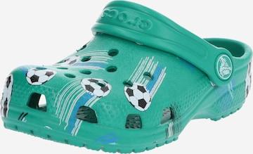 Crocs Schuhe 'Classic Sport Ball Clog PS DGn' in Grün