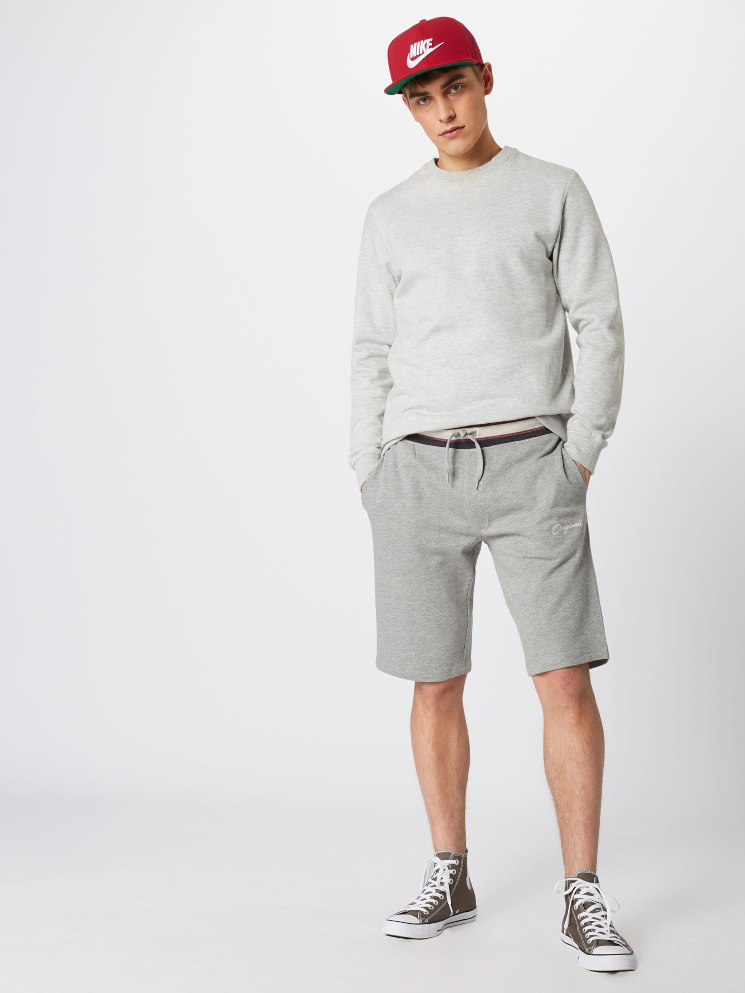 Pantalon En Sweat 'jorjared Clair Jackamp; Jones Gris Shorts' rCoeEQBWdx
