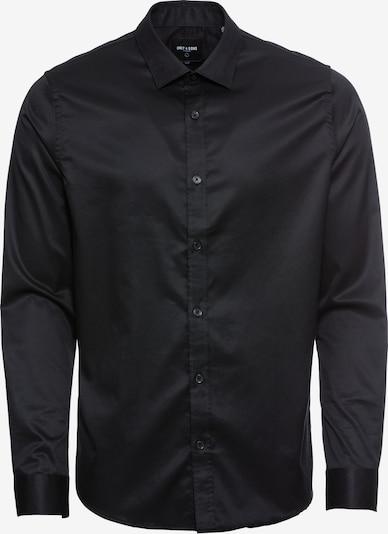 Only & Sons Overhemd in de kleur Zwart, Productweergave