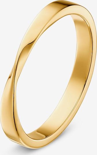 QOOQI Damenring in gold, Produktansicht