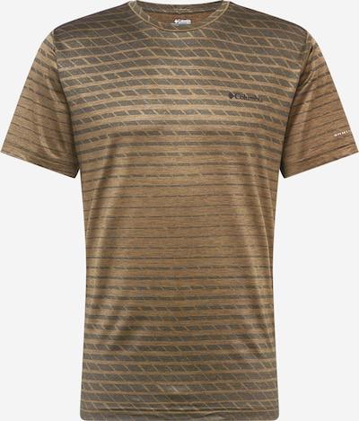 COLUMBIA Funkcionalna majica 'Tech Trail™ ' | rjava / zelena barva, Prikaz izdelka