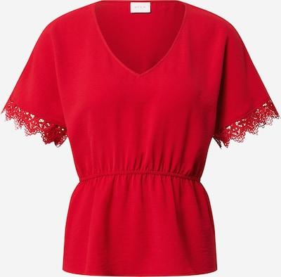 VILA Shirt 'VIRASHA' in rot: Frontalansicht