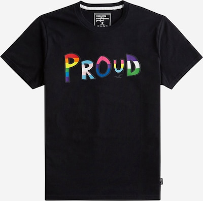HOLLISTER T-Shirt & Bracelet 'Pride' in mischfarben / schwarz, Produktansicht