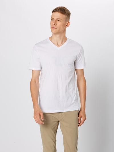BOSS Shirt 'Truth 10204207 01' in weiß: Frontalansicht
