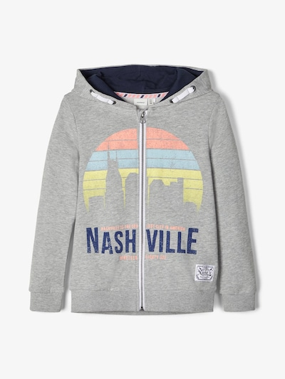 NAME IT Sweatshirt in grau, Produktansicht