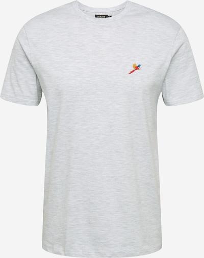 BURTON MENSWEAR LONDON Shirt 'PARROT EMB TEE FROST' in de kleur Wit, Productweergave