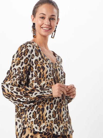 Cream Bluse 'Isley' in camel / schwarz: Frontalansicht