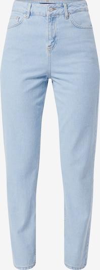 WHY7 Jeans 'Dana' in de kleur Lichtblauw, Productweergave