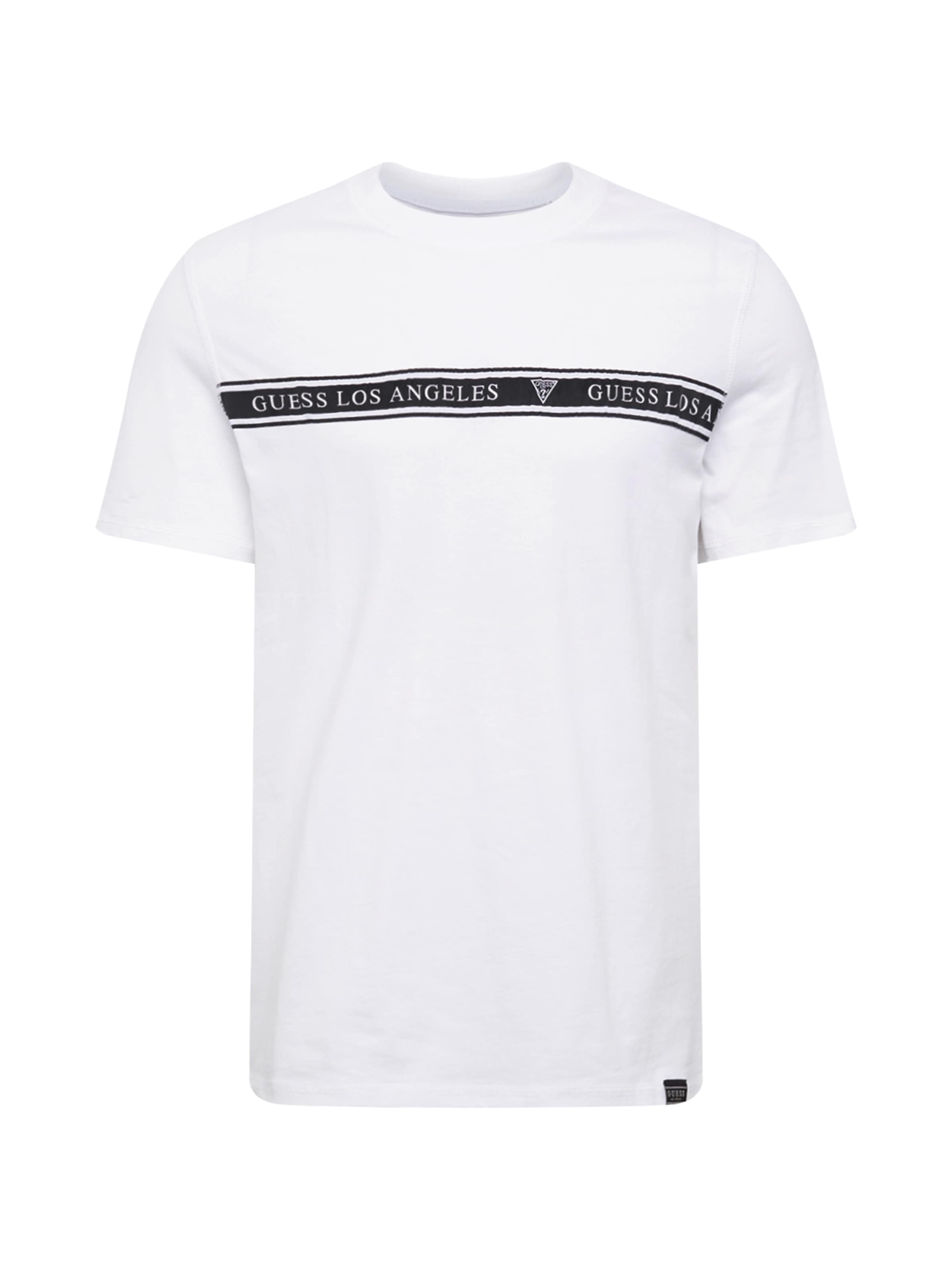 In Guess T T SchwarzWeiß Guess In shirt Guess T shirt shirt SchwarzWeiß AR354jqL