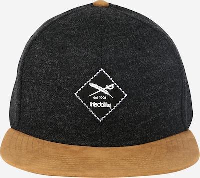 Iriedaily Cap 'Jugga' in camel / schwarzmeliert / weiß, Produktansicht