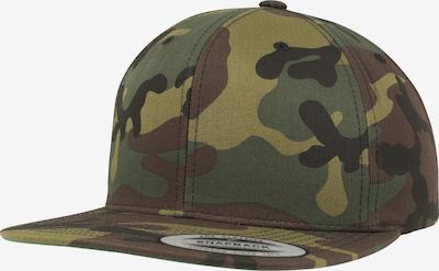 Flexfit Gorra en marrón / oliva / verde oscuro, Vista del producto