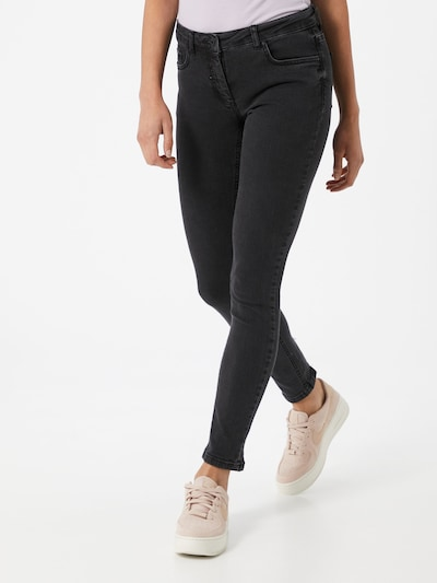 SOAKED IN LUXURY Jeans 'Callas' in black denim, Modelansicht