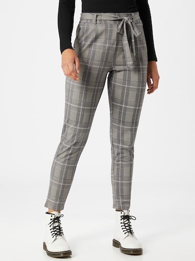 bézs / szürke / antracit MOSS COPENHAGEN Élére vasalt nadrágok 'Popye', Modell nézet
