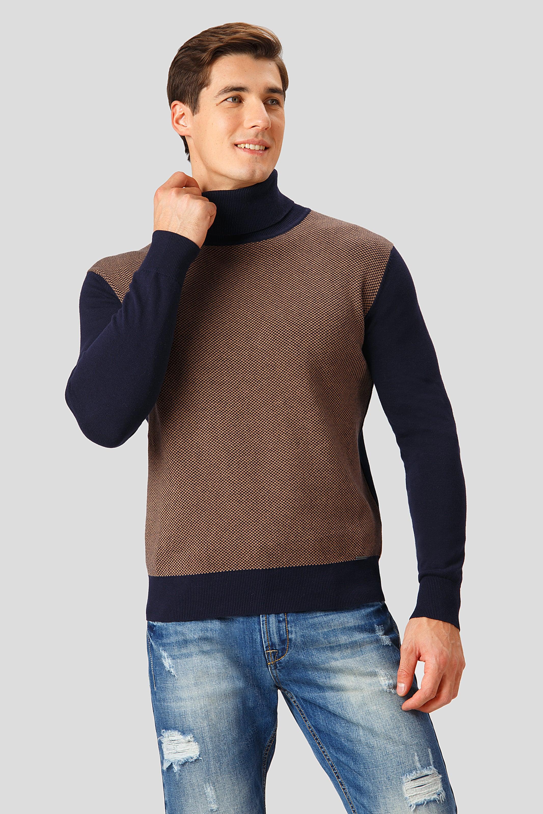 In Finn Finn DunkelblauBrokat Pullover Pullover Flare In Flare 8wP0Okn