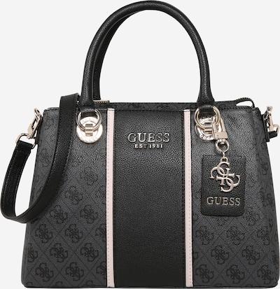 GUESS Handtasche 'Cathleen' in dunkelgrau / schwarz, Produktansicht
