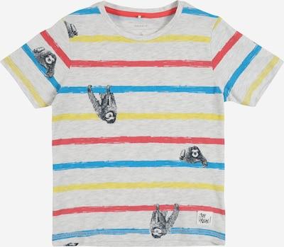 NAME IT T-Shirt in hellgrau / mischfarben, Produktansicht