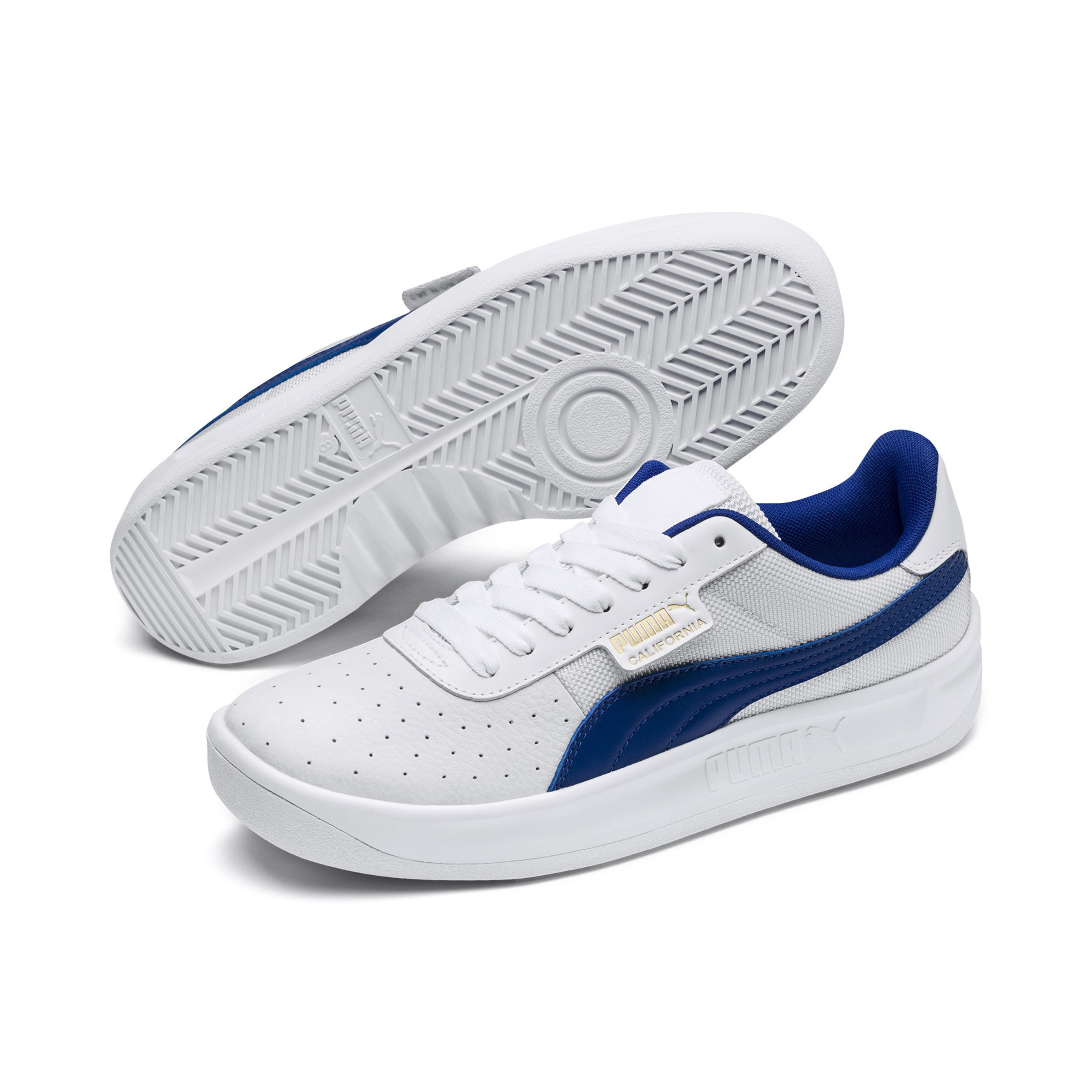 Basses 'california' BleuBlanc Puma Baskets En QxoBerdCW