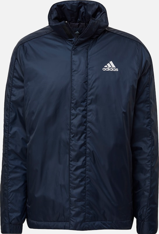 ADIDAS PERFORMANCE Winterjas 'BADGE OF SPORT' in de kleur Blauw, Productweergave