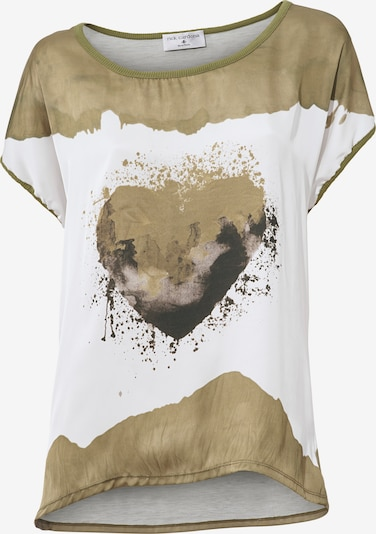 heine Druckshirt in brokat / weiß, Produktansicht