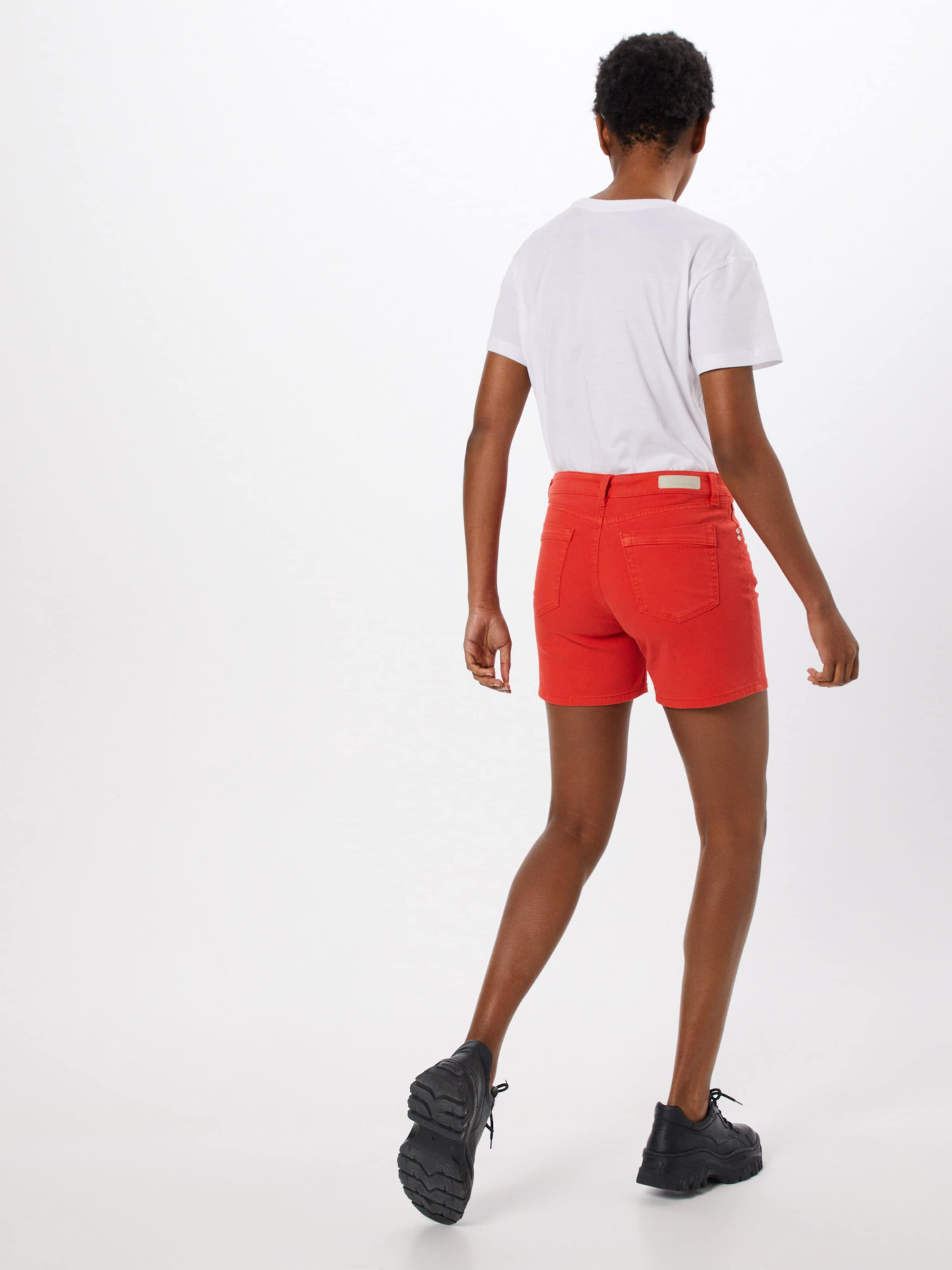 Denim Shorts Tom Tailor 'cajsa' In Orangerot Nn0vm8w