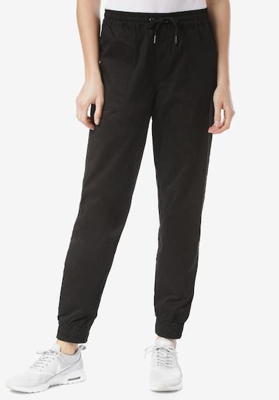 Iriedaily Hose 'Worker' in schwarz, Modelansicht