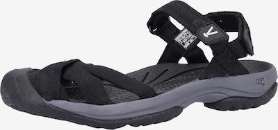 KEEN Sandale in grau / schwarz, Produktansicht