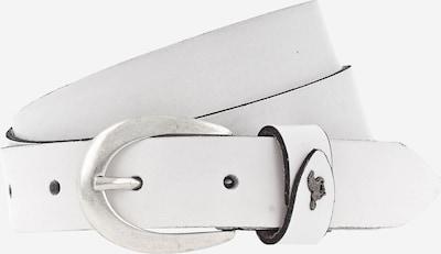MUSTANG Ledergürtel in weiß, Produktansicht