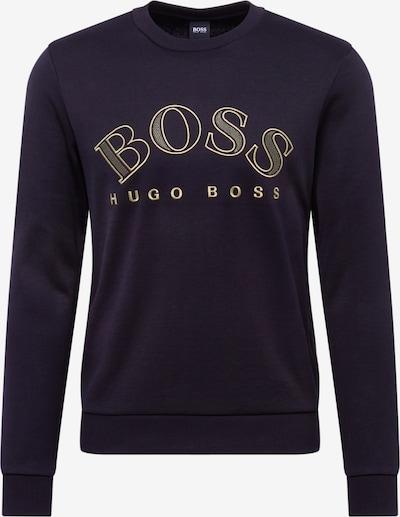 BOSS ATHLEISURE Sweatshirt 'Salbog' in de kleur Zwart, Productweergave