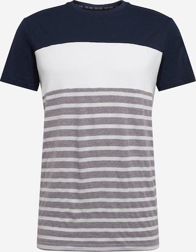 Cars Jeans T-Krekls 'LETON TS' pieejami kamuflāžas / balts, Preces skats