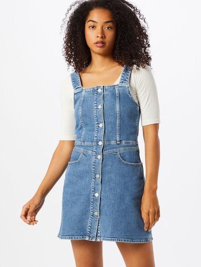 Calvin Klein Jeans Kleid in hellblau, Modelansicht