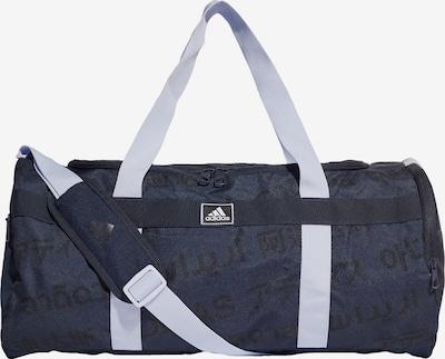 ADIDAS PERFORMANCE Sporttas in de kleur Opaal / Donkerblauw / Zwart, Productweergave