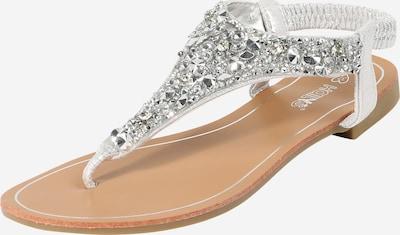 Hailys Sandale 'Anica' in silber, Produktansicht