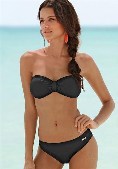 Bikini SUNSEEKER di colore nero: Vista frontale