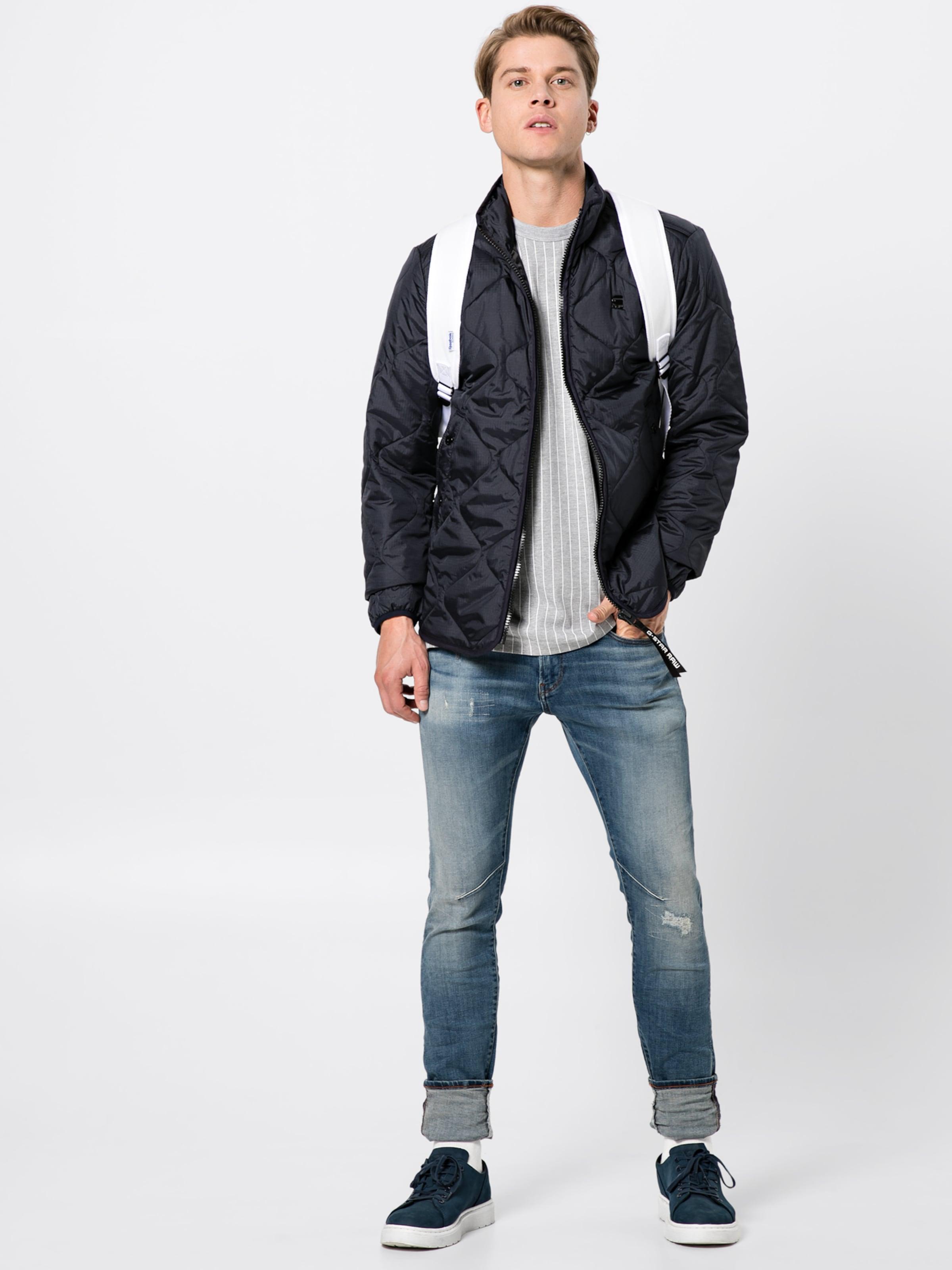 star Raw Liner 'edla G Dunkelblau In Übergangsjacke Ts Overshirt' OZuTwPkilX