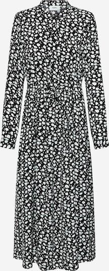 Moves Robe-chemise 'Tanisa' en noir / blanc, Vue avec produit