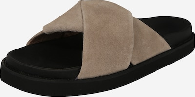 Garment Project Slipper 'Yodoa' in beige / schwarz, Produktansicht