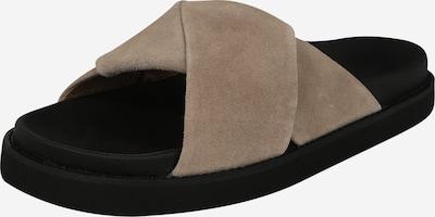 Garment Project Klapki 'Yodoa' w kolorze beżowy / czarnym, Podgląd produktu