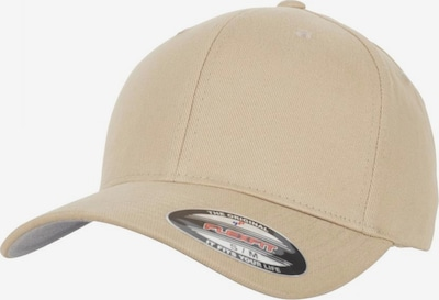 Flexfit Cap 'Brushed Twill' in eierschale, Produktansicht