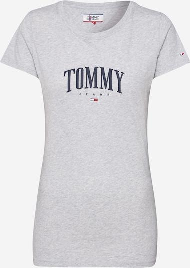 Tommy Jeans Shirt 'TJW TOMMY SCRIPT TEE' in grau, Produktansicht