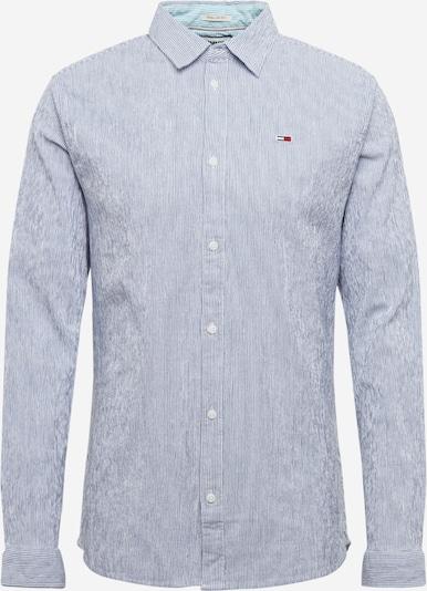 Tommy Jeans Hemd 'SEERSUCKER' in navy / mischfarben, Produktansicht