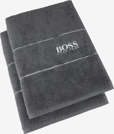 BOSS Home Gästehandtuch 'Plain' in grau, Produktansicht