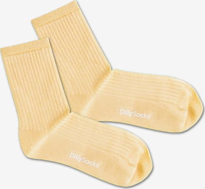 DillySocks Socken 'Sweet Yellow' in gelb, Produktansicht