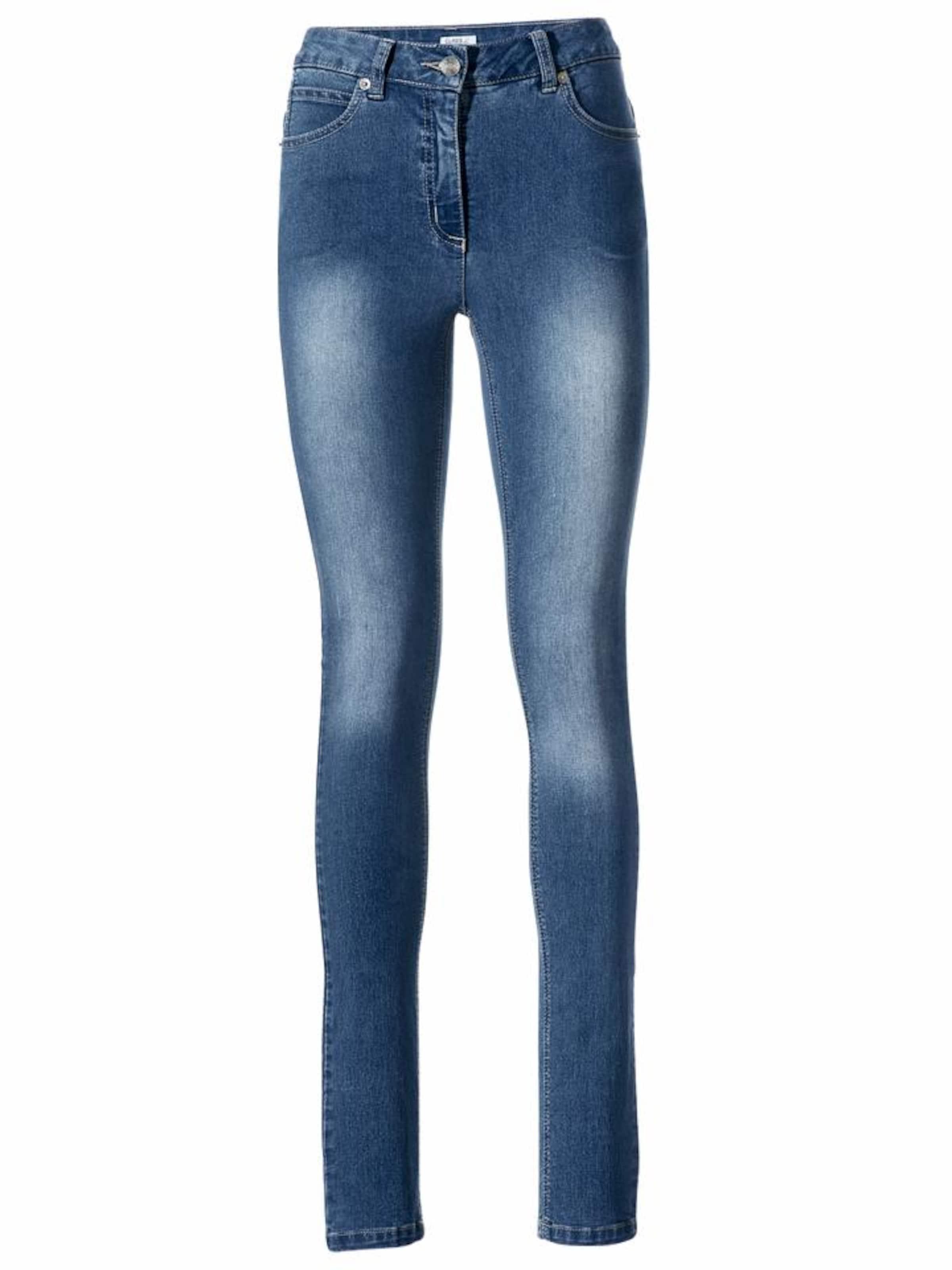 Blue röhrenjeans Denim In Heine Bodyform k0nwOP