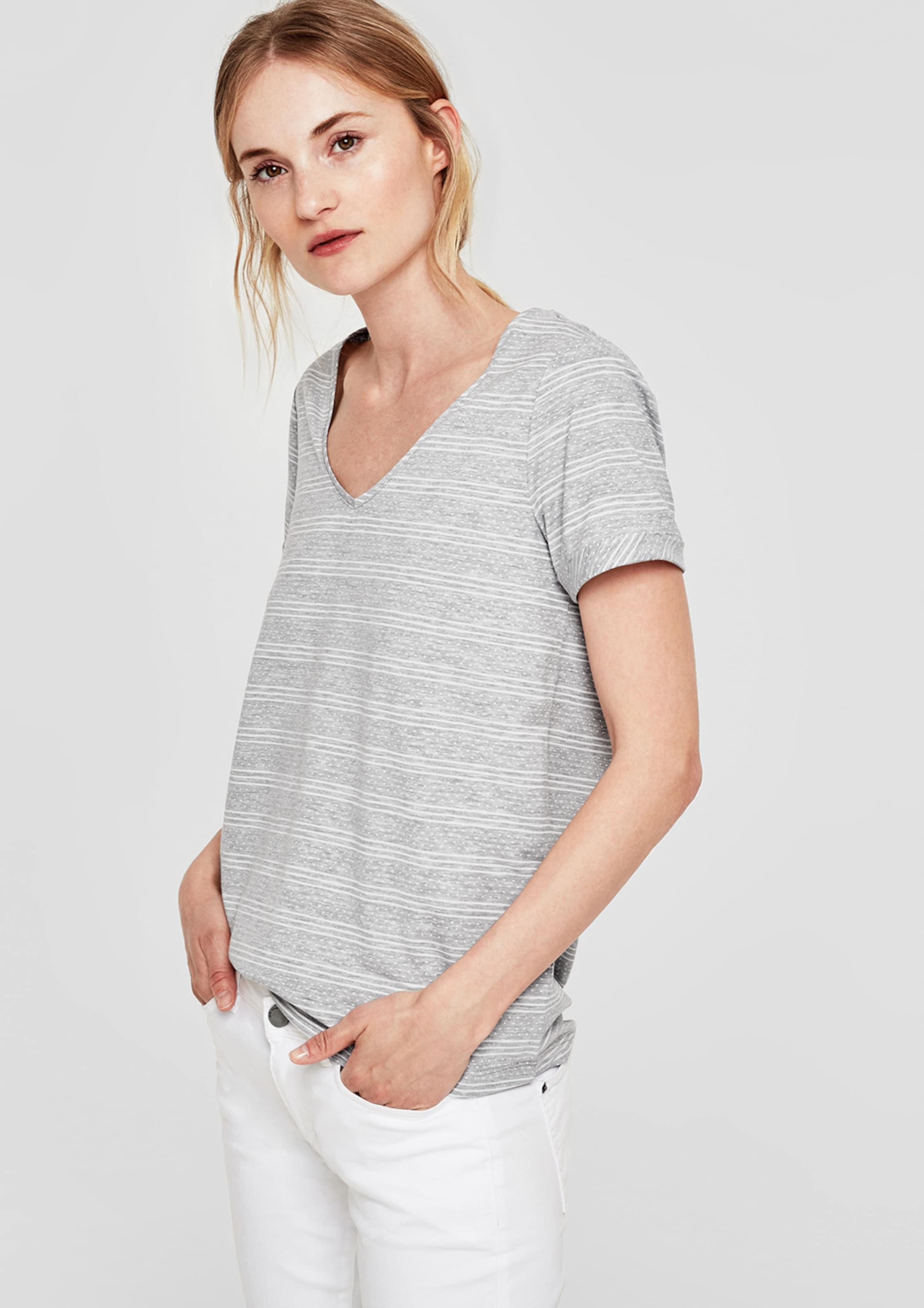 In oliver S Shirt oliver In Shirt oliver S In S Shirt GraumeliertWeiß GraumeliertWeiß 53RjAq4L